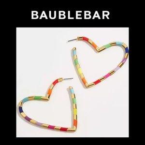 New! Baublebar Annaelle Open Heart Earrings!